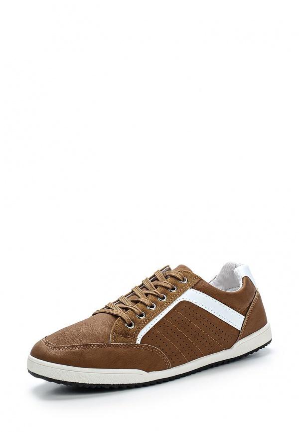 Кроссовки WS Shoes YY665-3 белые, коричневые