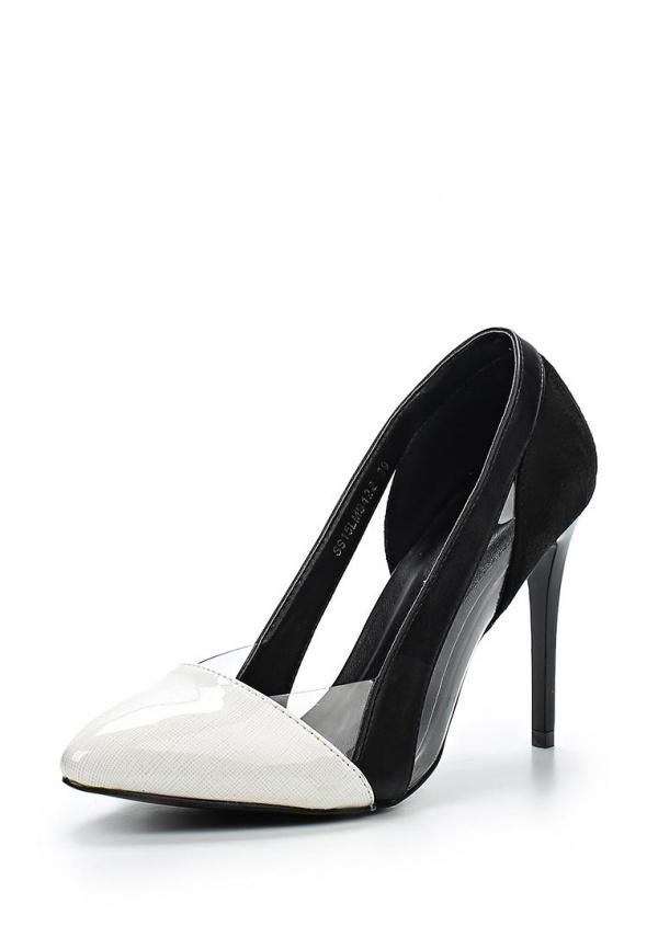 Туфли Lamania SS15LMS422 белые, чёрные