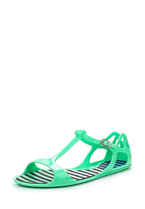 Сандалии adidas Originals D67837 зеленые
