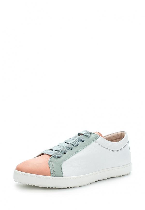 Кеды Escada Sport 5016259 белые, голубые, розовые