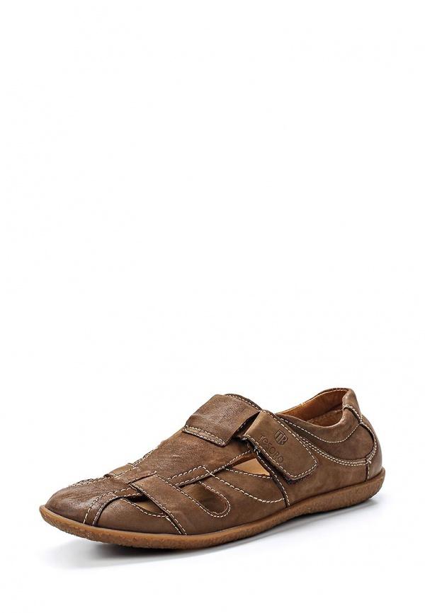Туфли Tesoro 157048/02-02 коричневые