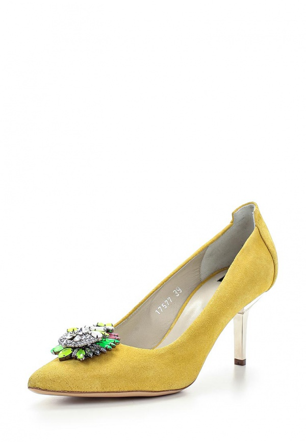 Туфли Roberto Botticelli BX17577 жёлтые
