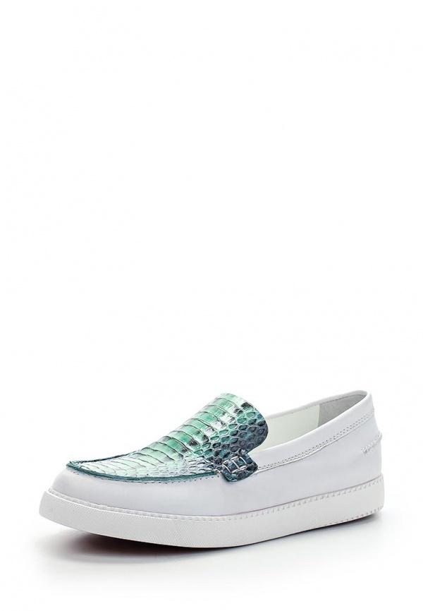 Слипоны See by Chloe SB24060 00070 белые, зеленые