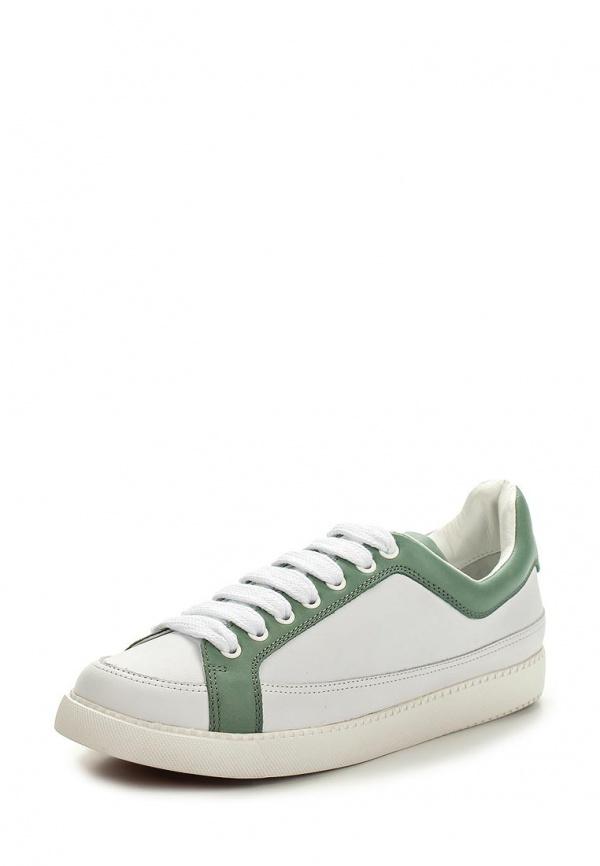 Кеды See by Chloe SB24061 00072 белые, зеленые