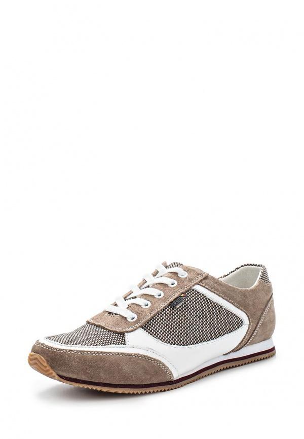 Кроссовки Spur SM2315_02_02_BROWN бежевые, белые, коричневые