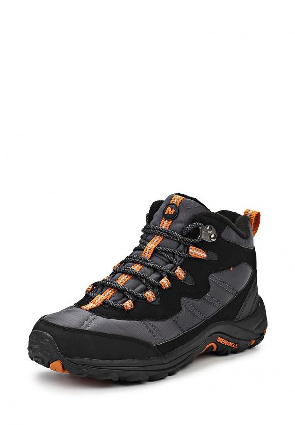 Ботинки трекинговые Merrell 173133C серые, чёрные