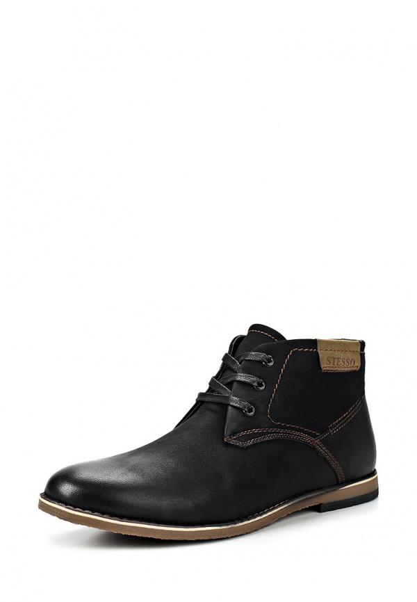Ботинки Stesso 601-00BJN-3A чёрные