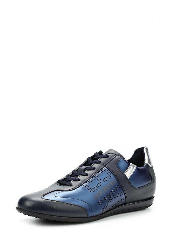 Кроссовки Bikkembergs BKE107455 синие, чёрные