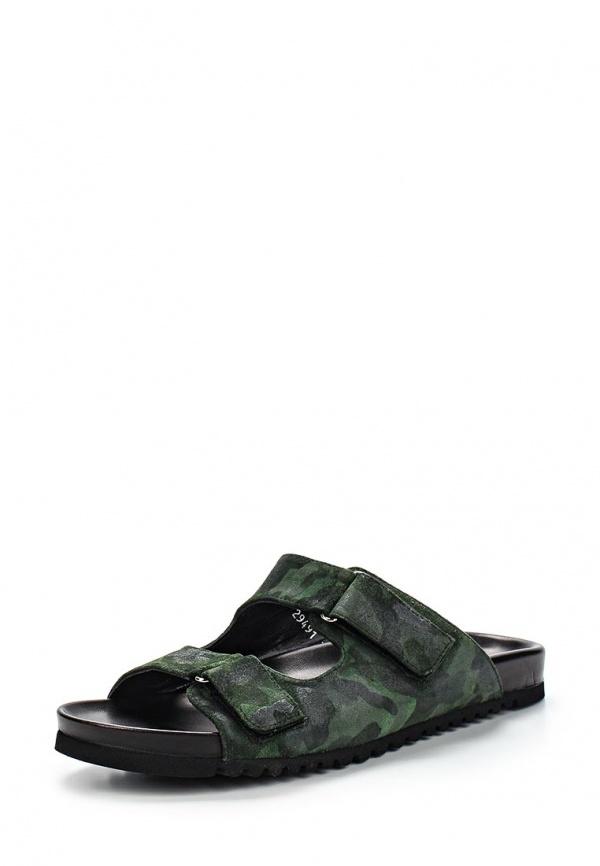 Сабо Botticelli Limited LU29491 зеленые, чёрные