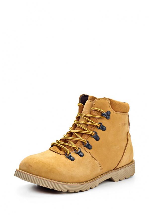Ботинки Crosby 324608/02#3 жёлтые
