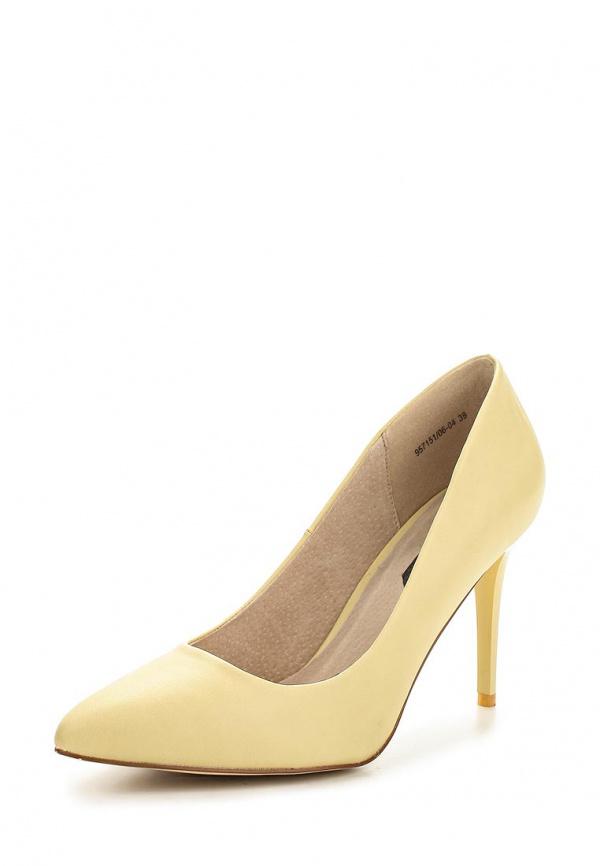 Туфли J&Elisabeth 957151/06-04 жёлтые