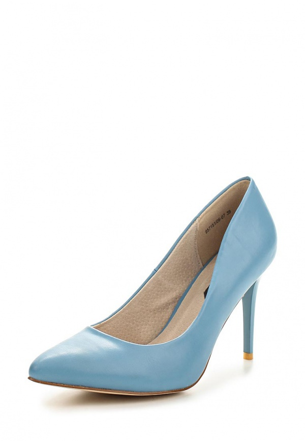 Туфли J&Elisabeth 957151/06-07 голубые