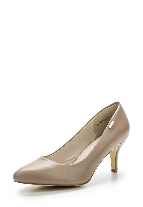 Туфли J&Elisabeth 957159/01-03 коричневые