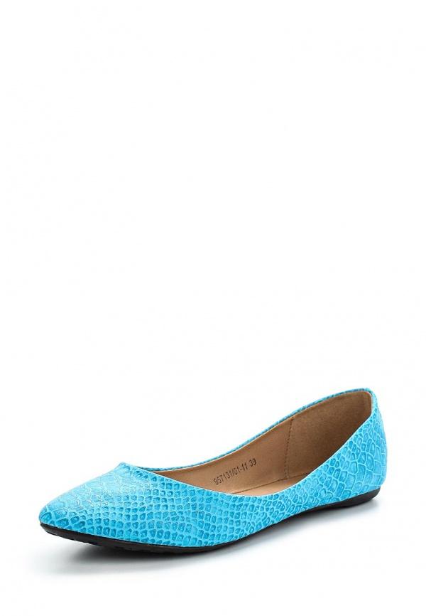 Балетки Betsy 957131/01-11 голубые