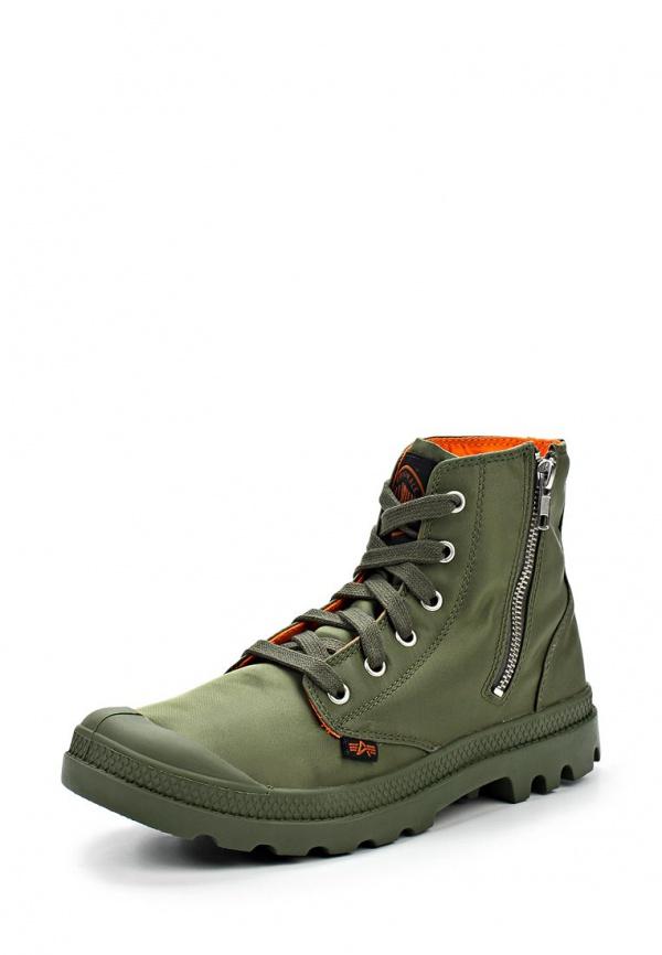 Ботинки Palladium 3233 зеленые