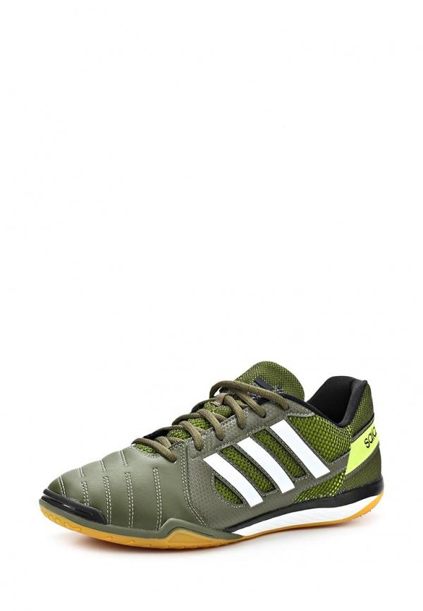 Бутсы зальные adidas Performance F32536 зеленые