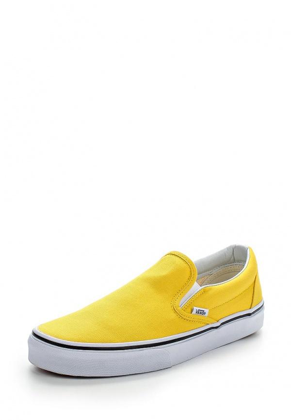 Слипоны Vans VZMRFSX жёлтые