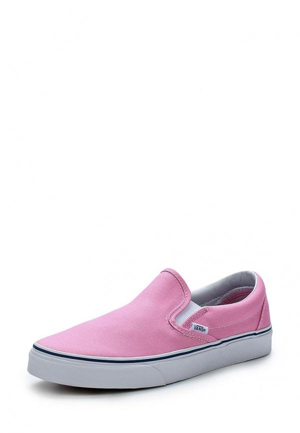 Слипоны Vans VZMR2W0 розовые