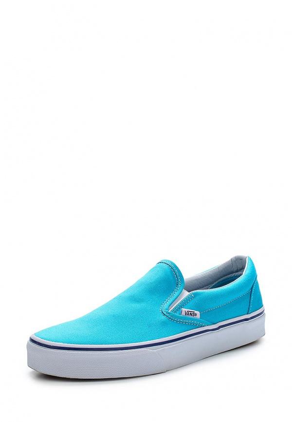 Слипоны Vans VZMRFRY голубые
