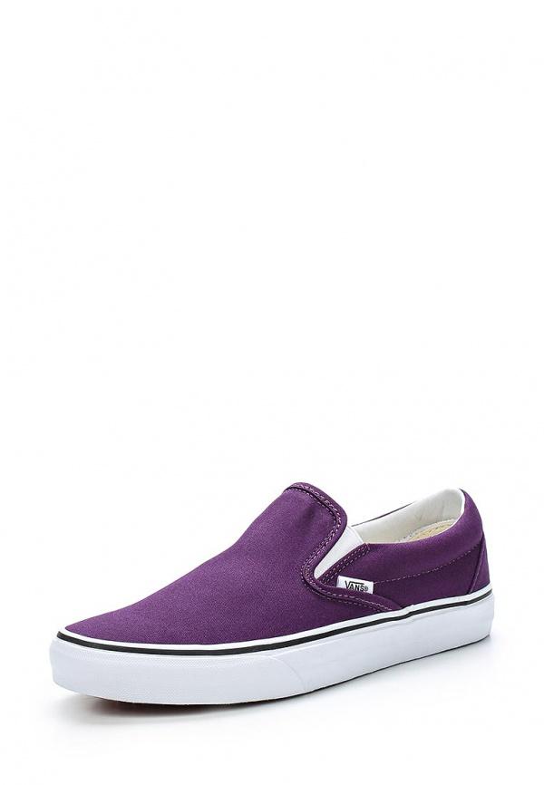 Слипоны Vans VZMRFSE фиолетовые