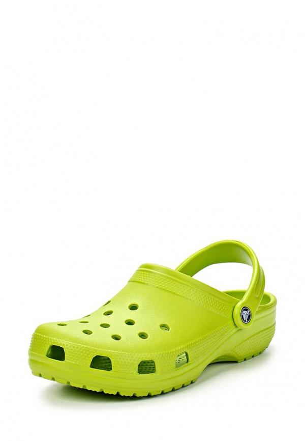 Сабо Crocs 10001-395 зеленые
