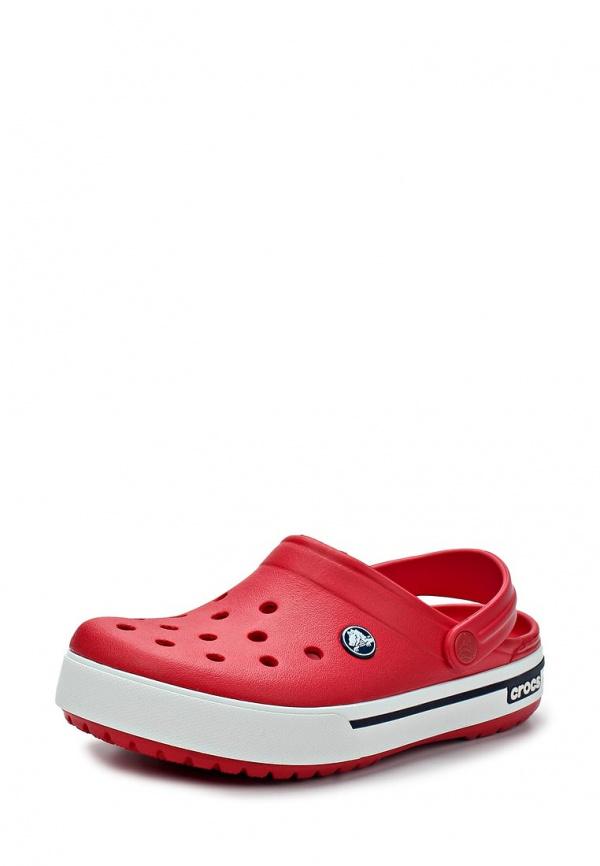 Сабо Crocs 12836-639 белые, красные