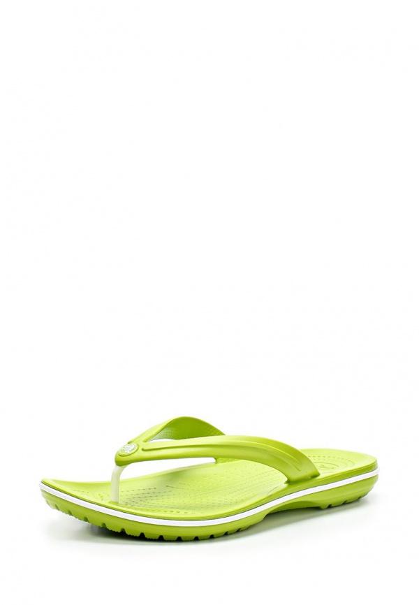 Сланцы Crocs 11033-394 зеленые