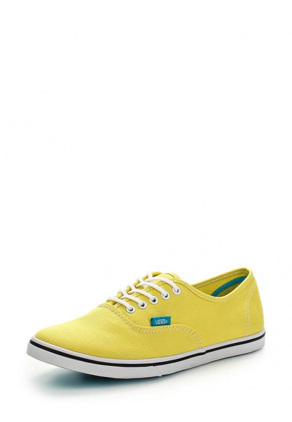 Кеды Vans VW7NFKD жёлтые