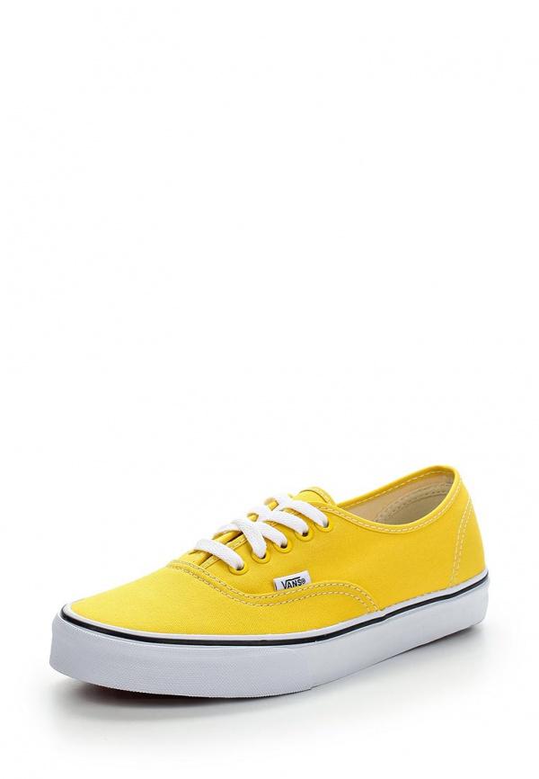 Кеды Vans VZUKFSX жёлтые