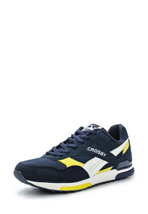 Кроссовки Crosby 257007/01-02-M жёлтые, синие
