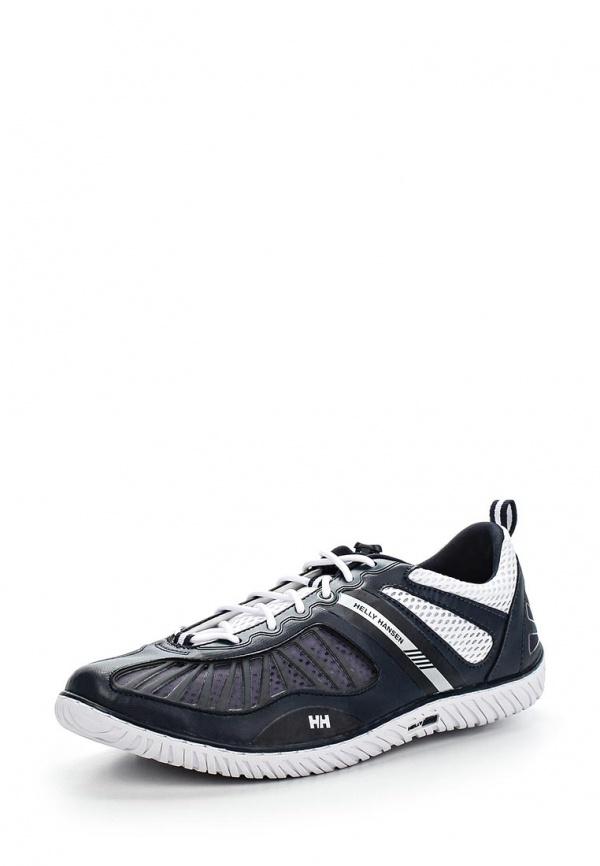 Кроссовки Helly Hansen 10832 белые, синие, чёрные