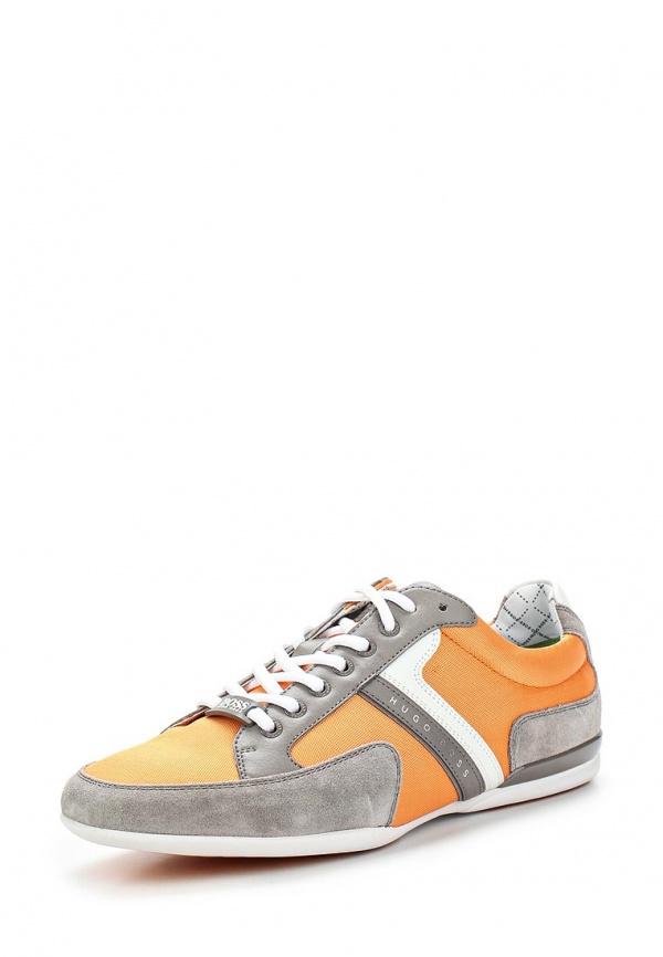 Кроссовки Boss Green 50247632 оранжевые, серые