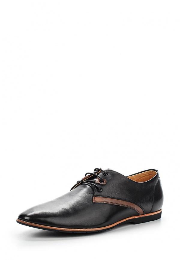 Туфли Hortos 657233/01-02 коричневые, чёрные