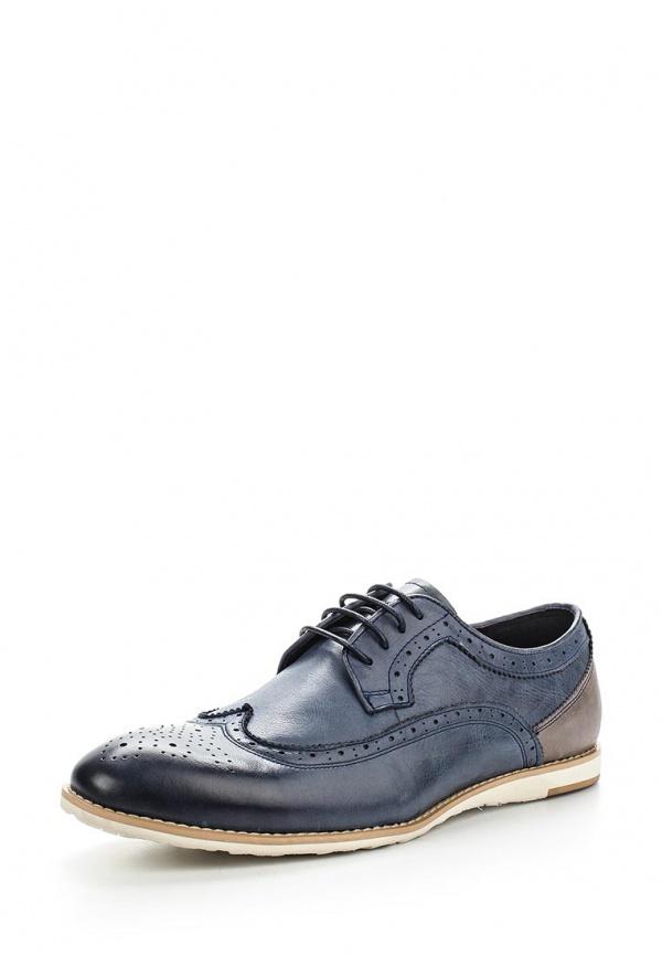 Туфли Valor Wolf 2773-6 коричневые, синие