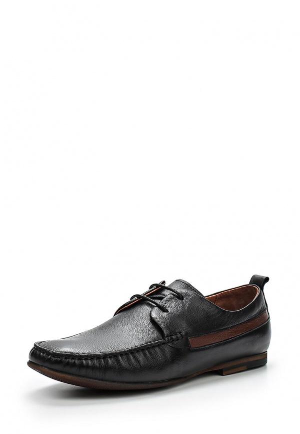 Туфли Valor Wolf F82-2 коричневые, чёрные