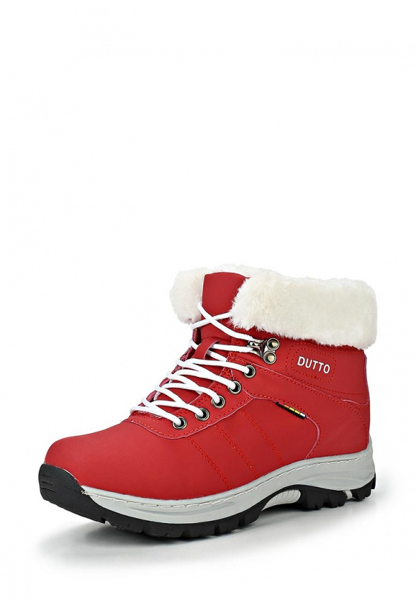 Трекинговые ботинки Dutto 625-00ARC-1A красные