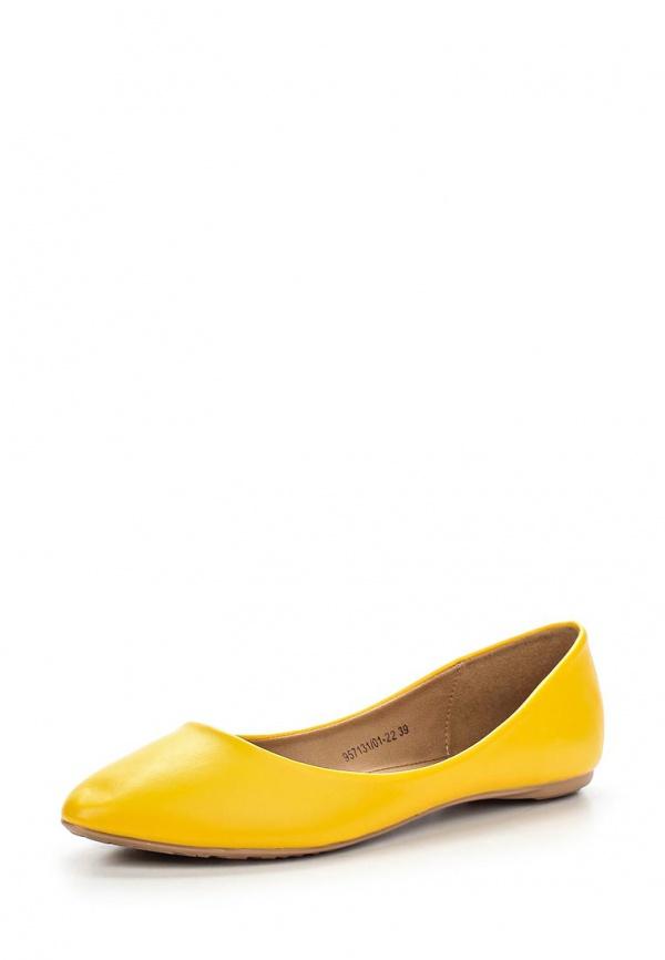 Балетки Betsy 957131/01-22 жёлтые