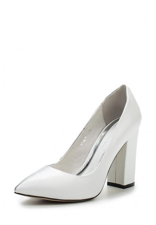 Туфли Laura Valorosa 757139/01-02 белые, серебристые