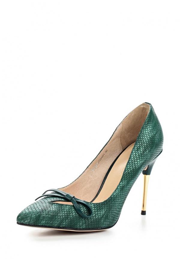 Туфли Laura Valorosa 757201/01-03 зеленые