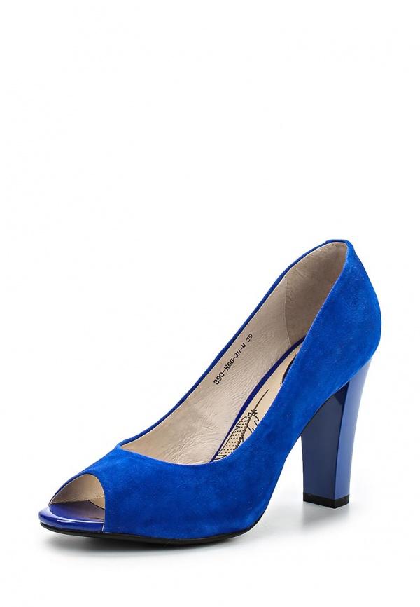 Туфли Sinta 390-W66-3H-M синие