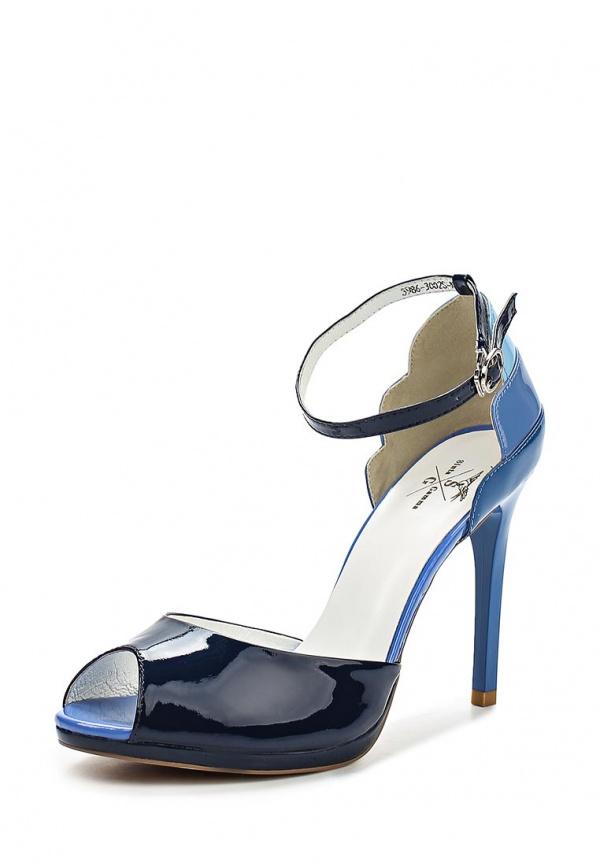 Туфли Sinta 3986-3002S-N1566APYT-M голубые, синие