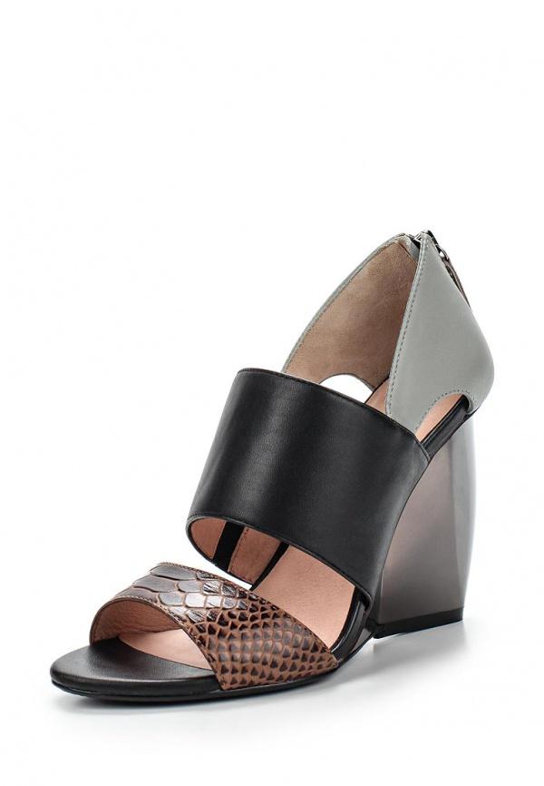 Туфли United Nude 1001344416S15,Sera Sandal коричневые, серые, чёрные