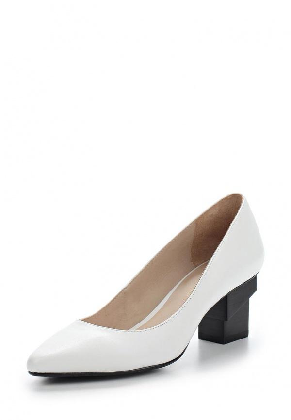 Туфли United Nude 100200416S15,COCO белые, чёрные