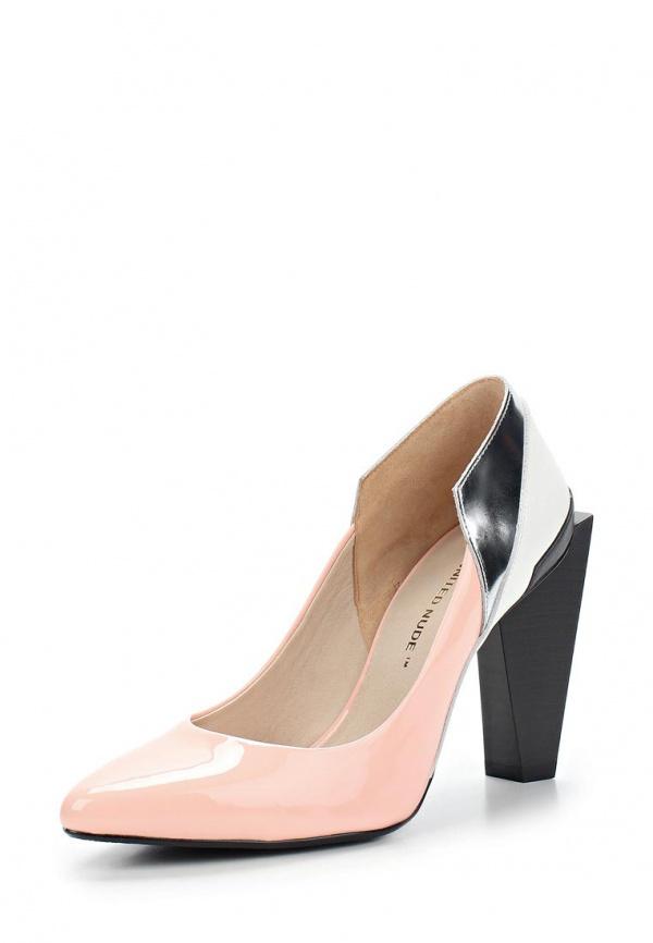 Туфли United Nude 1001344703S15,Ruby Pump Hi белые, розовые, чёрные