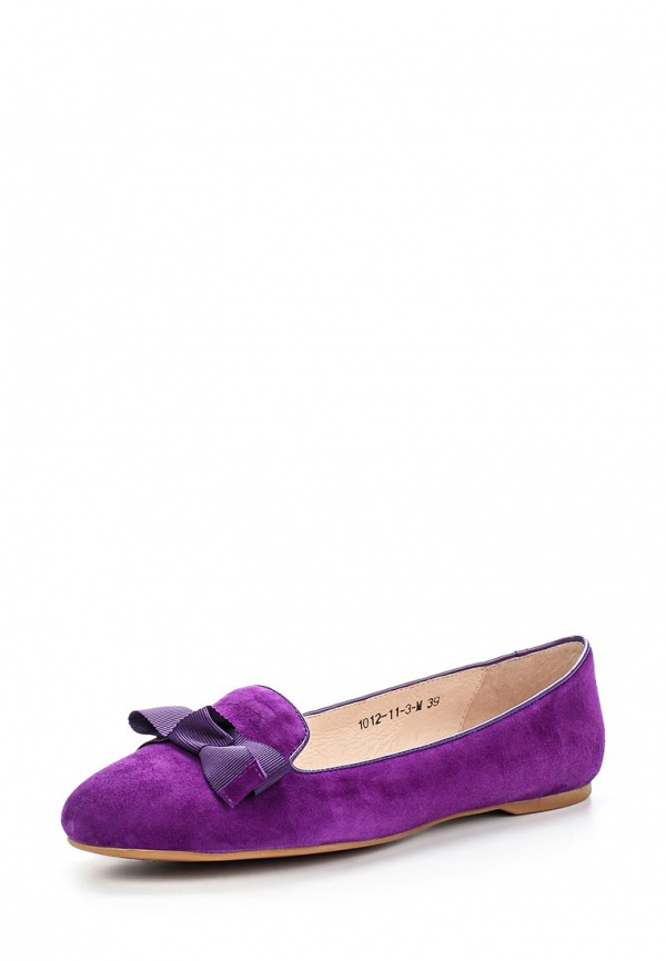 Лоферы Sinta 1012-11-3-M фиолетовые