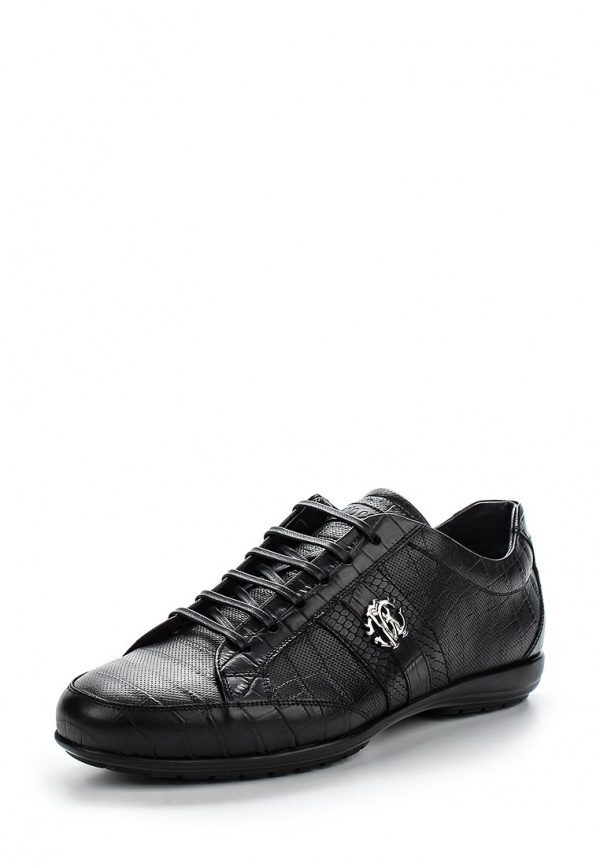 Кроссовки Roberto Cavalli 5446 чёрные