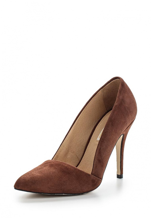 Туфли Buffalo 111-3011 BG коричневые