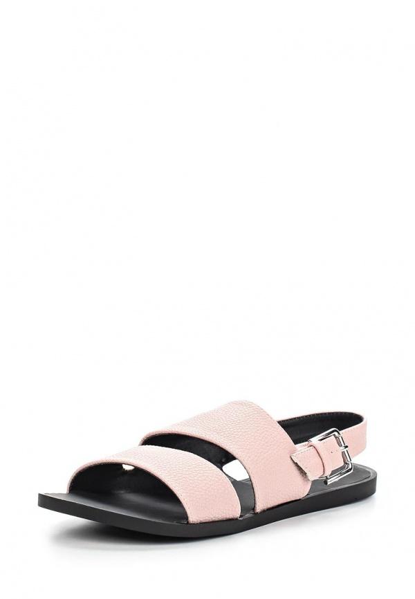 Сандалии Spurr SMRAW15013 розовые, чёрные