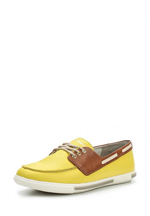Топсайдеры Cravo & Canela 96733-5 жёлтые, коричневые