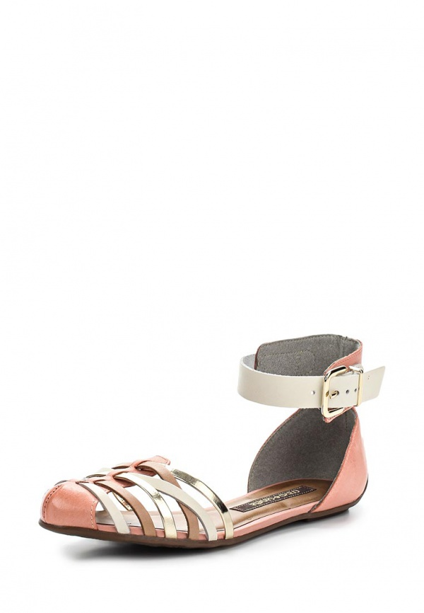 Сандалии Cravo & Canela 99805-4 белые, розовые, серебристые